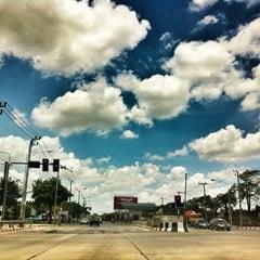 Photo taken at แยกเกษตร-เสนานิคม (Kaset-Sena Nikhom Intersection) by BW'L on 4/17/2012