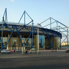 Photo taken at ОСК «Металіст» / Metalist Stadium by Andrey K. on 8/6/2012
