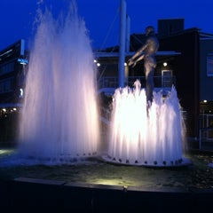 Photo taken at Father & Son Fountain by Autumn on 6/11/2012