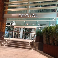 Photo taken at Shopping Crystal by FERNANDO S. on 5/20/2012