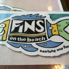 Photo taken at Fins On The Beach by Zack B. on 6/9/2012
