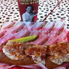 Photo taken at Firehouse Subs by Carlos P. on 4/13/2012