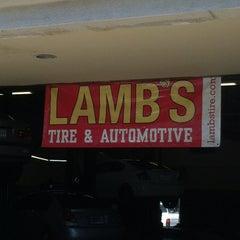Photo taken at Lamb's Tire by Jason L. on 4/21/2012