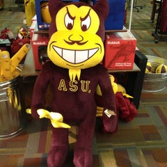 Photo taken at Sun Devil Campus Stores-Tempe Campus by Jeff H. on 2/27/2012