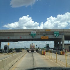 Photo taken at Toll Booth by A & J D. on 7/25/2012