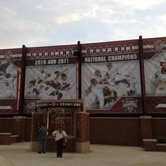 Photo taken at Carolina Stadium by Amber K. on 3/7/2012