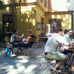 Photo taken at Café Podnebi by Barbora P. on 5/1/2012