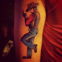 Photo taken at Zebra Tattoo & Body Piercing by Holly P. on 6/15/2012