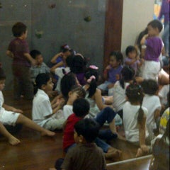 Photo taken at Kinderfield Sudirman park by Ratu D. on 8/15/2012