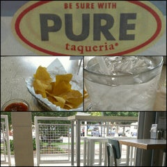 Photo taken at Pure Taqueria by David R. on 8/22/2012