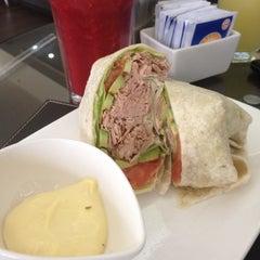 Photo taken at StarClick Café by Erika V. on 8/29/2012