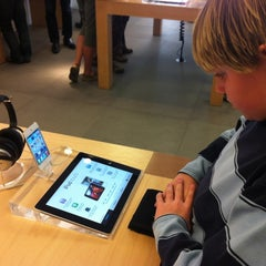 Photo taken at Apple Store, Corte Madera by Grant G. on 3/11/2012