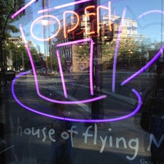 Photo taken at Flying M Coffeehouse by Lori B. on 6/17/2012