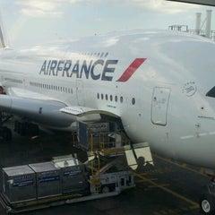 Photo taken at Air France - Flight AF 7 by Ali D. on 7/2/2012