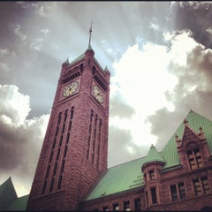 Photo taken at Minneapolis City Hall by Amy D. on 3/16/2012