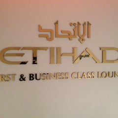 Photo taken at Etihad Airways Lounge by A.A on 9/11/2012