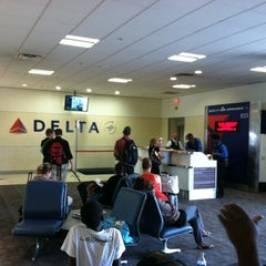 Photo taken at Gate B33 by Stephen G. on 8/31/2012
