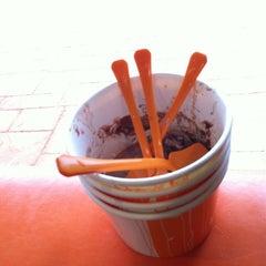 Photo taken at Orange Leaf by Robert T. on 2/18/2012