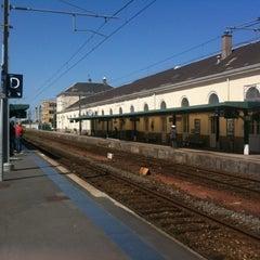 Photo taken at Gare SNCF de La Roche-sur-Yon by Emmanuelle R. on 5/13/2012