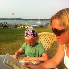 Photo taken at Waterfront Mary's Bar & Grill by Dane H. on 7/4/2012