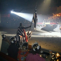 Photo taken at Medieval Times Dinner & Tournament by Carlos Arturo C. on 8/19/2012