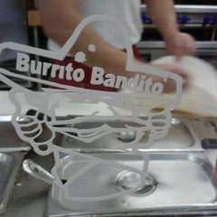 Photo taken at Burrito Bandito by Eric L. on 9/10/2012