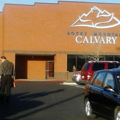 Photo taken at Rocky Mountain Calvary by Torie G. on 3/25/2012