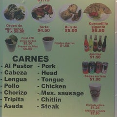 Photo taken at El Charrito Taco Truck by Cesar Q. on 3/20/2012