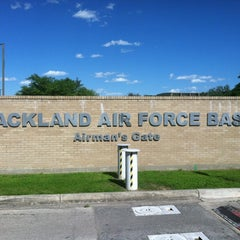 Photo taken at Lackland Air Force Base by Jac Q. on 3/21/2012
