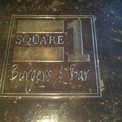 Photo taken at Square 1 Burgers & Bar by Sean B. on 3/23/2012