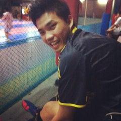 Photo taken at Sempurna Futsal by Riska F. on 8/28/2012