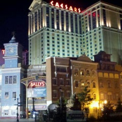 Photo taken at Caesars Atlantic City Hotel and Casino by Dawn   :o) D. on 3/6/2012