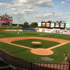 Photo taken at Coca-Cola Park by Kram 2. on 6/16/2012