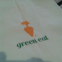Photo taken at Green Eat by Agus M. on 4/3/2012