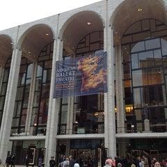 Photo taken at American Ballet Theatre at the Metropolitan Opera House by Maribel M. on 5/22/2012
