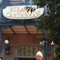 Photo taken at Pirates of the Caribbean by Dan T. on 6/3/2012