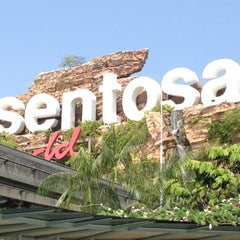 Photo taken at Sentosa Island by David A. on 7/28/2012