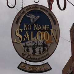 Photo taken at No Name Saloon & Grill by John G. on 3/25/2012