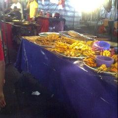 Photo taken at Pasar malam Isnin by Myra S. on 4/30/2012
