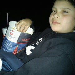 Photo taken at Cinemark San Justo by Mariel Y. on 7/20/2012