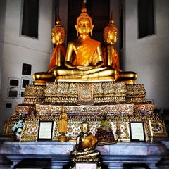 Photo taken at วัดพิชยญาติการาม (วัดพิชัยญาติ) Wat Phichaiyatikaram by Su P. on 6/23/2012