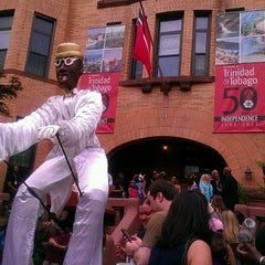 Photo taken at Embassy Of The Republic of Trinidad and Tobago by Danielle on 5/5/2012