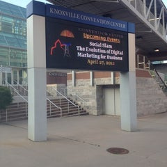 Photo taken at Knoxville Convention Center by Jeff H. on 4/27/2012