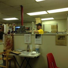 Photo taken at Plaza Pizza by Denver H. on 8/10/2012