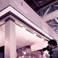 Photo taken at Victorinox Swiss Army @Baselworld 2013 by Olivier S. on 3/9/2012