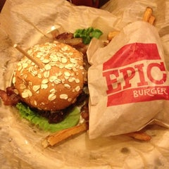 Photo taken at Epic Burger by Steve T. on 5/5/2012