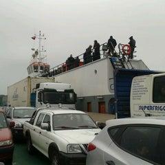 Photo taken at Ferry Ruende by Rodrigo R. on 2/21/2012