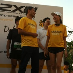 Photo taken at 2XU Compression Run 2012 by Edwin Y. on 4/1/2012