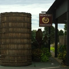 Photo taken at Newport Vineyards by Jimie S. on 9/9/2012