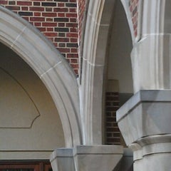 Photo taken at University of Richmond by Amy Y. on 3/23/2012